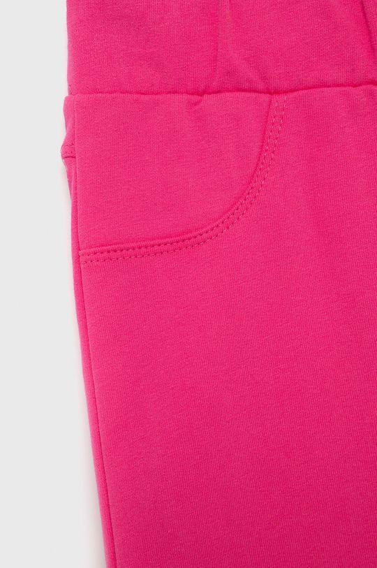 ostry różowy Birba&Trybeyond - Dres bawełniany dziecięcy