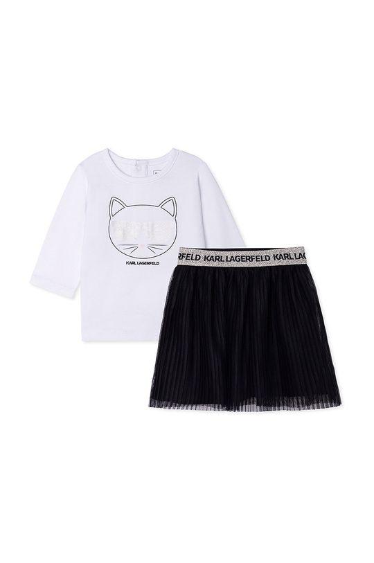 alb Karl Lagerfeld - Compleu copii De fete