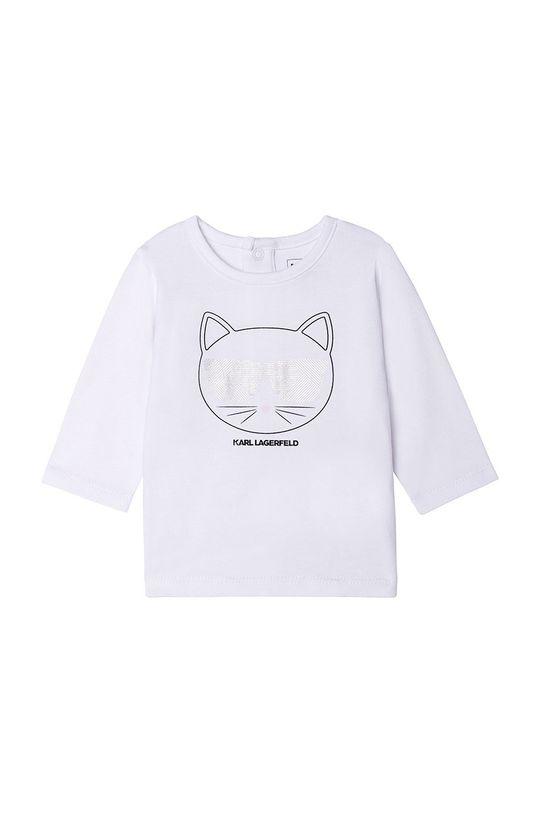 Karl Lagerfeld - Compleu copii  Captuseala: 100% Viscoza Material 1: 100% Poliester  Material 2: 95% Bumbac, 5% Elastan
