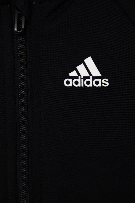 czarny adidas - Dres dziecięcy