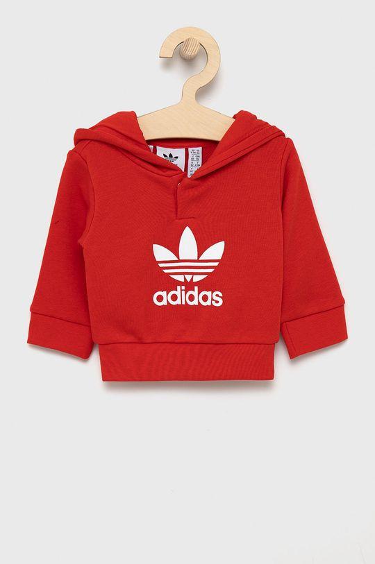 adidas Originals - Komplet dziecięcy czerwony