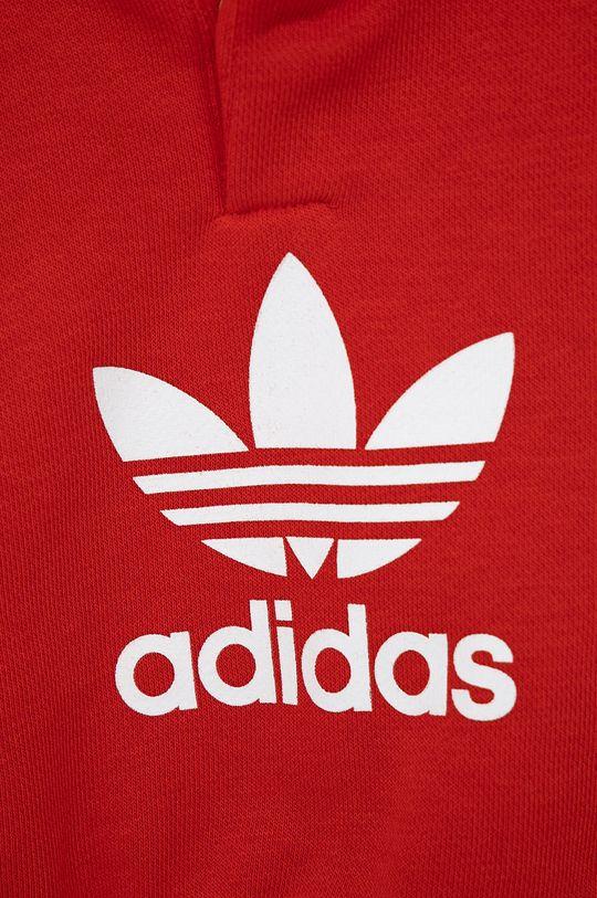 czerwony adidas Originals - Komplet dziecięcy
