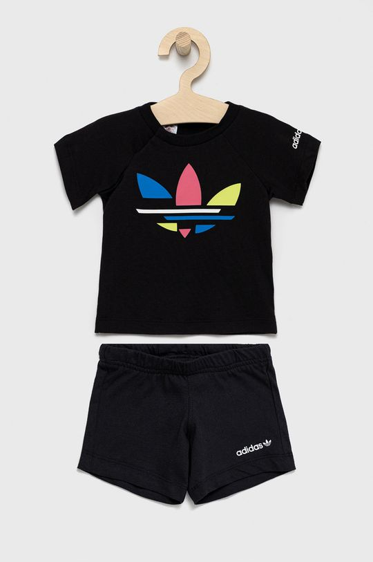 czarny adidas Originals - Komplet dziecięcy Dziecięcy