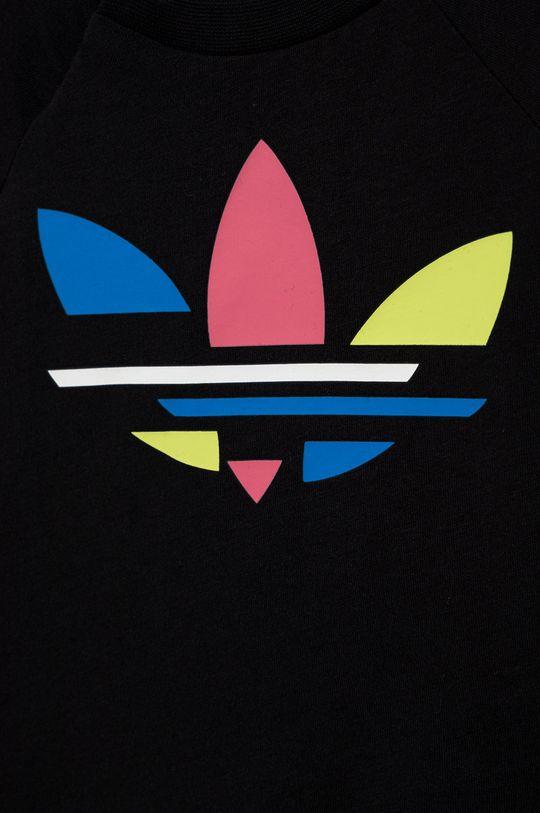 czarny adidas Originals - Komplet dziecięcy