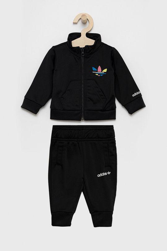 czarny adidas Originals - Dres dziecięcy Dziecięcy