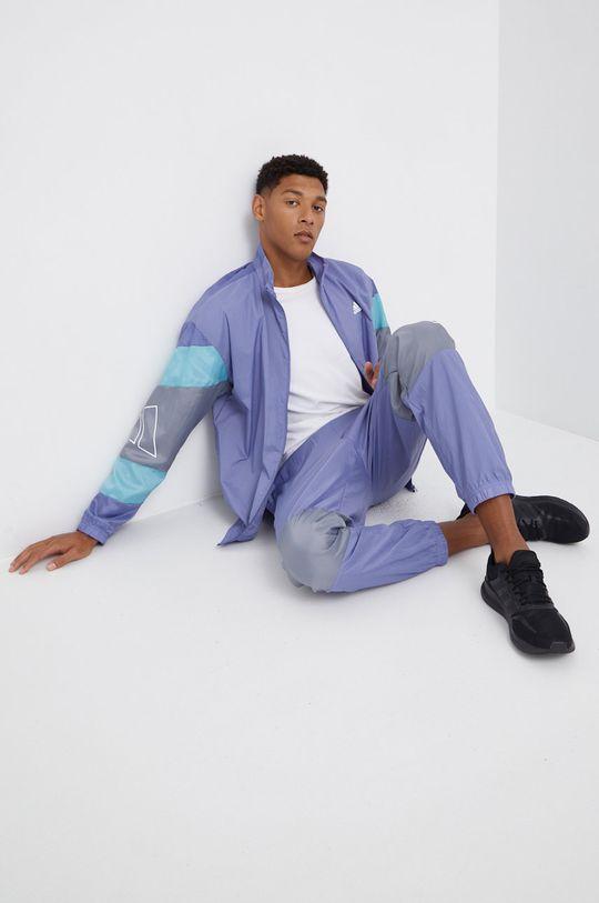 lawendowy Adidas Performance - Dres Męski