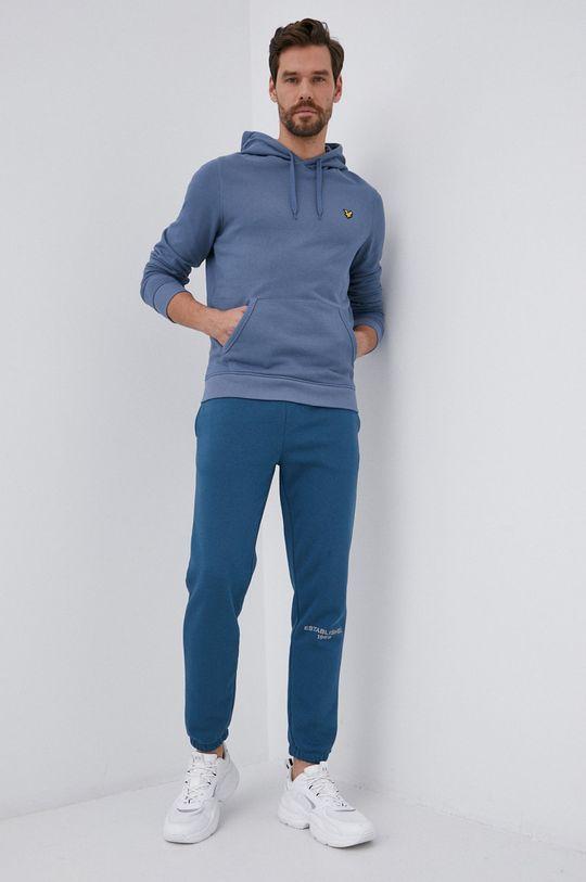 niebieski GAP - Spodnie Męski