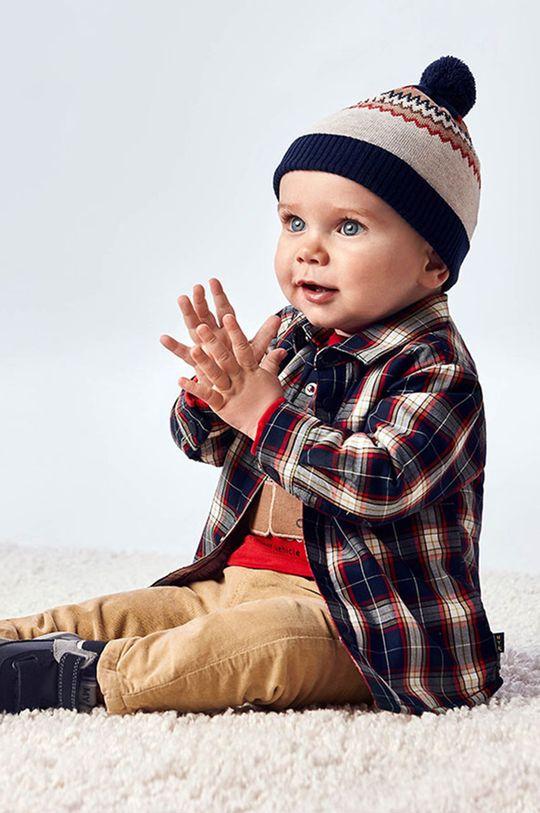 granatowy Mayoral - Koszula bawełniana dziecięca Chłopięcy