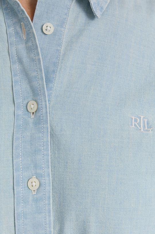 Lauren Ralph Lauren - Koszula bawełniana niebieski