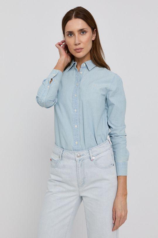niebieski Lauren Ralph Lauren - Koszula bawełniana