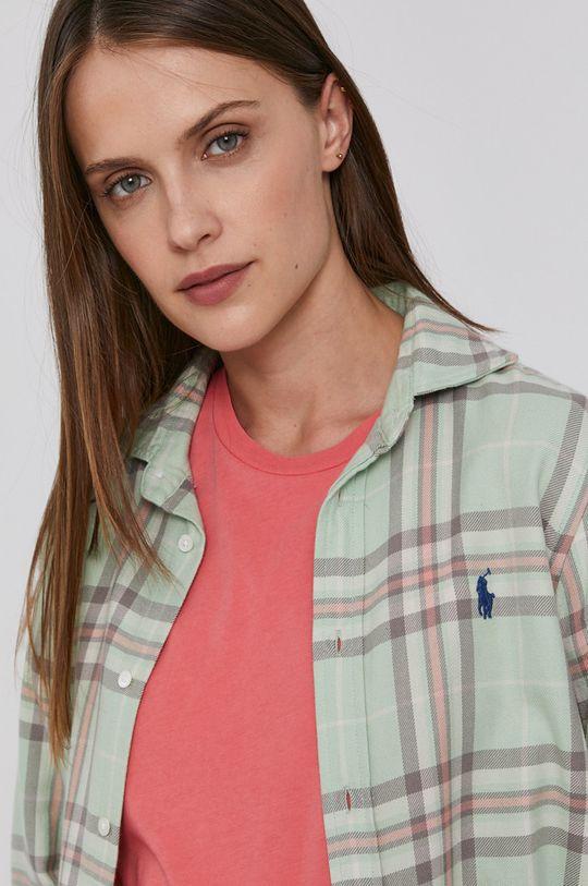 zelená Polo Ralph Lauren - Bavlněné tričko Dámský