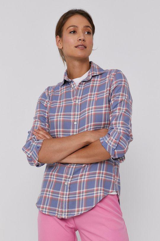vícebarevná Polo Ralph Lauren - Bavlněná košile Dámský