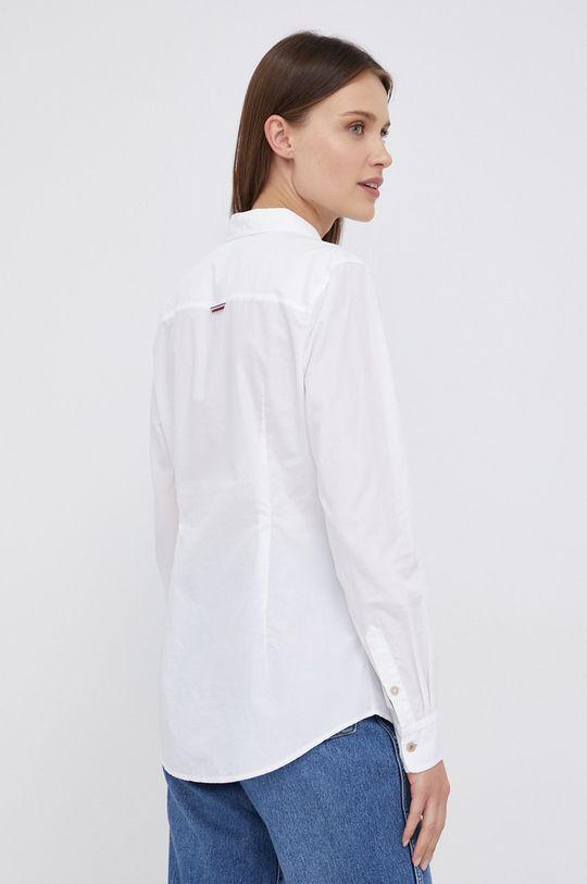 biały Tommy Hilfiger - Koszula bawełniana