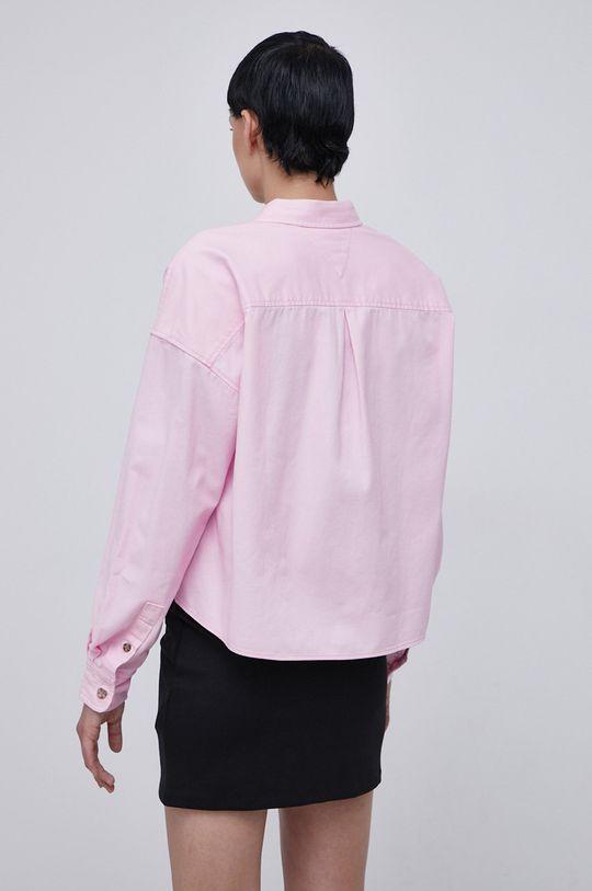 Tommy Jeans - Koszula bawełniana 100 % Bawełna