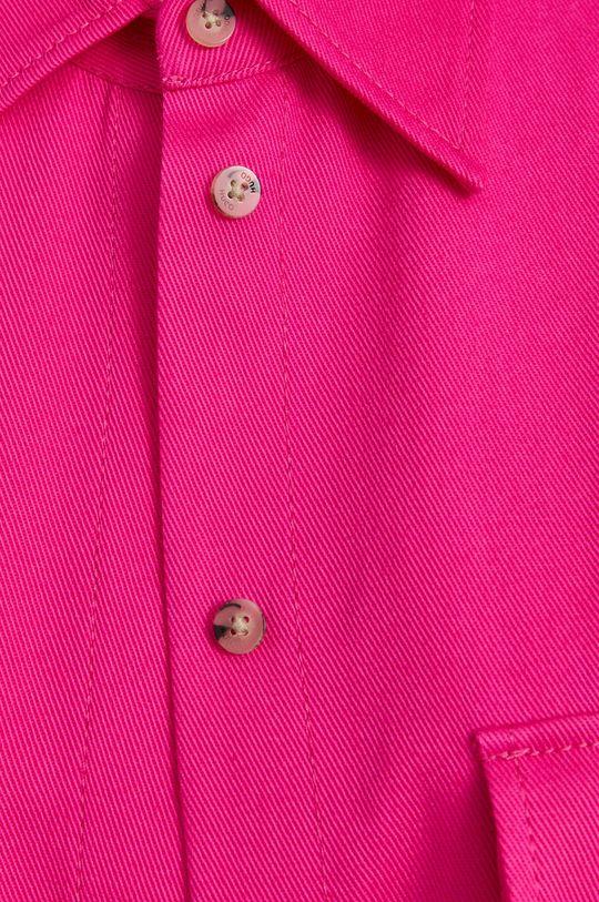 Hugo - Košile ostrá růžová