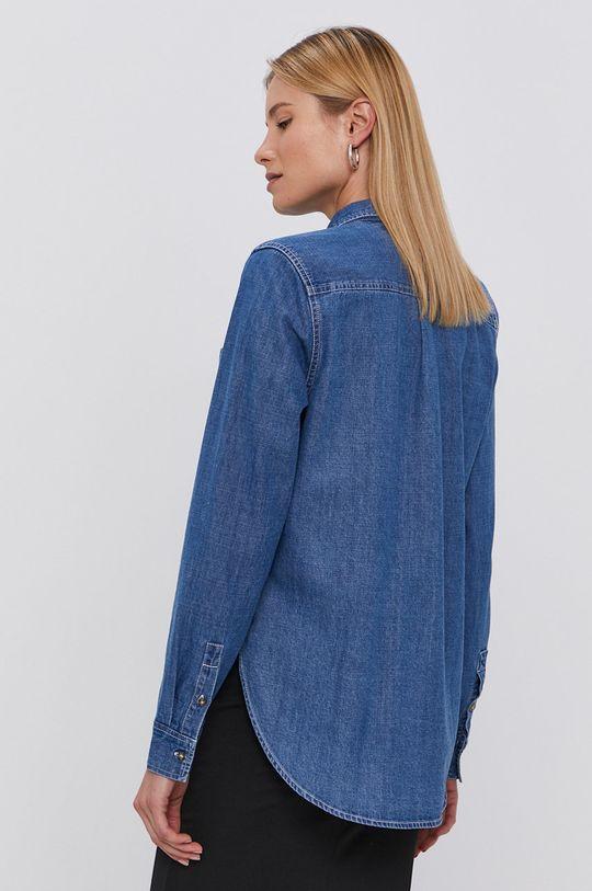 Tommy Jeans - Koszula bawełniana jeansowa 100 % Bawełna organiczna