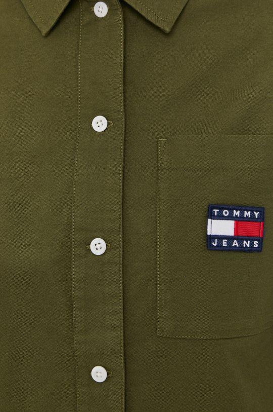 Tommy Jeans - Koszula bawełniana Damski