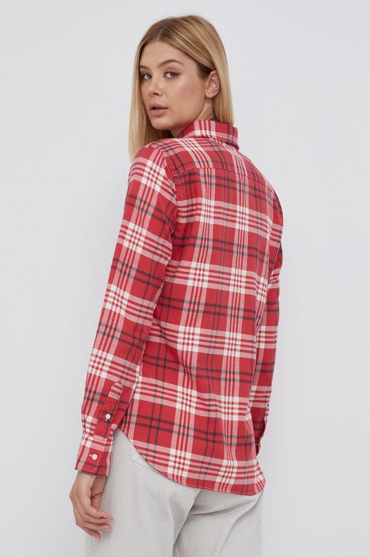 červená Polo Ralph Lauren - Bavlněné tričko