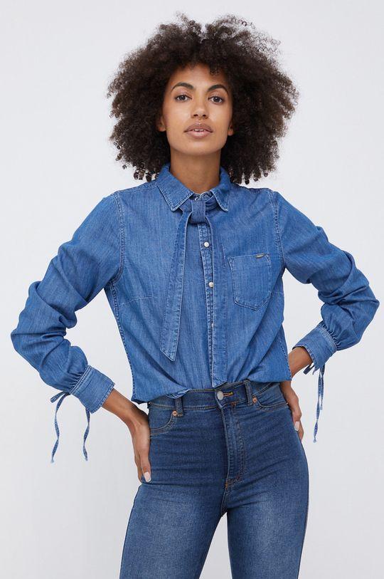 albastru Pepe Jeans - Camasa jeans Esme De femei