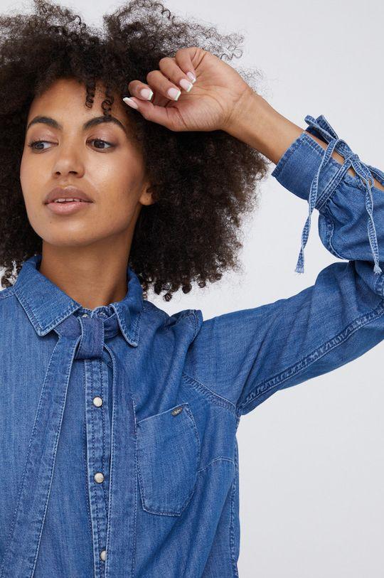 albastru Pepe Jeans - Camasa jeans Esme