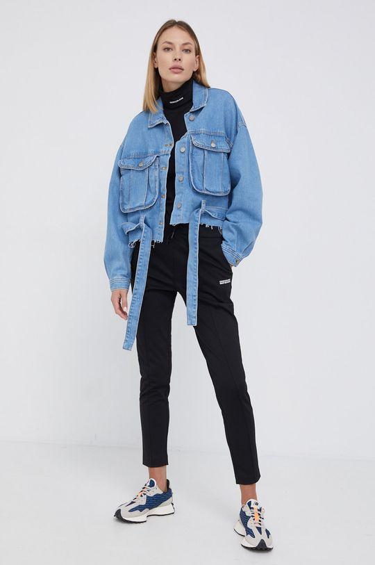 fioletowy Dr. Denim - Koszula bawełniana jeansowa Damski