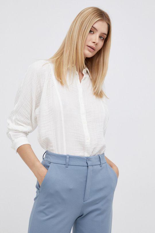 biały Lee - Koszula bawełniana Damski
