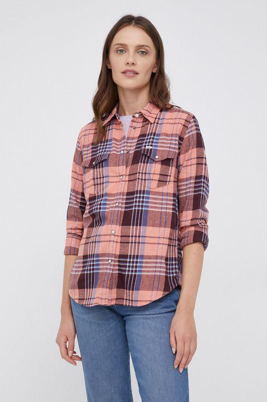 Lee - Koszula bawełniana Damski