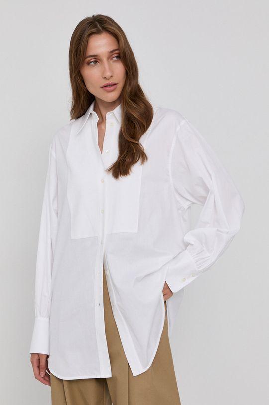 biela Victoria Victoria Beckham - Bavlnená košeľa Dámsky