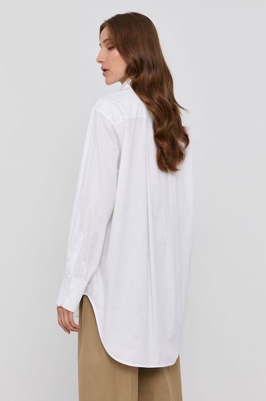 Victoria Victoria Beckham - Bavlnená košeľa  Iné látky: 100% Perleť 1. látka: 100% Organická bavlna 2. látka: 100% Bavlna