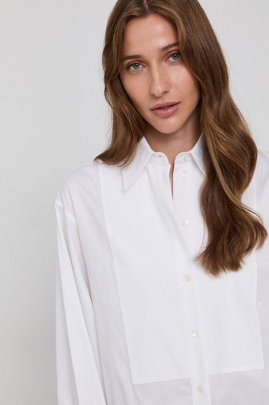 biela Victoria Victoria Beckham - Bavlnená košeľa