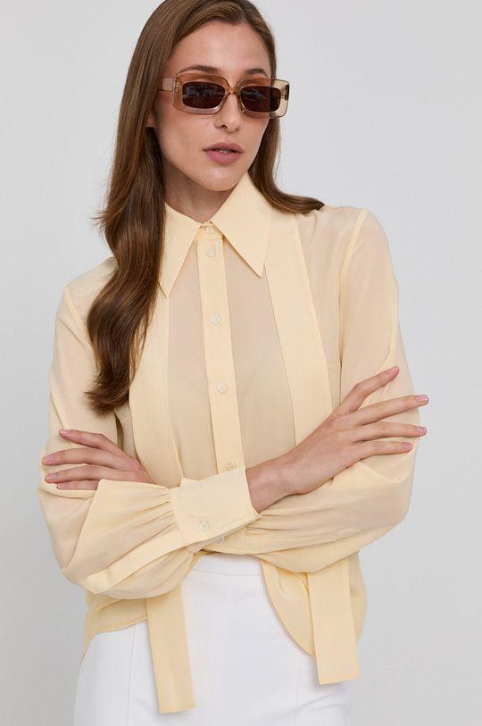 žltá Victoria Victoria Beckham - Košeľa Dámsky