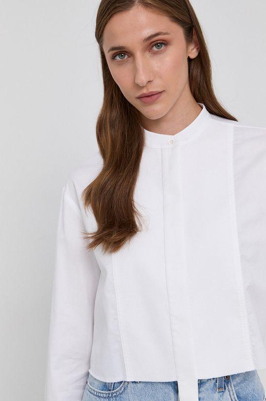 biały Victoria Victoria Beckham - Koszula bawełniana