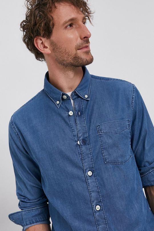 albastru Selected - Camasa De bărbați