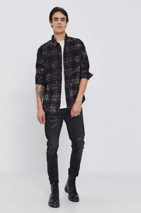 Tigha - Bavlněná košile Elior  100% Bavlna