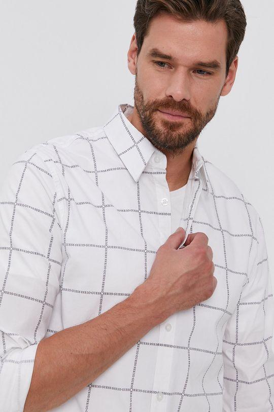 alb Guess - Camasa De bărbați