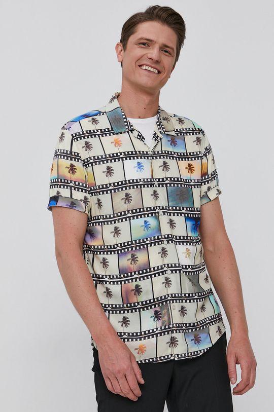vícebarevná Guess - Košile Pánský