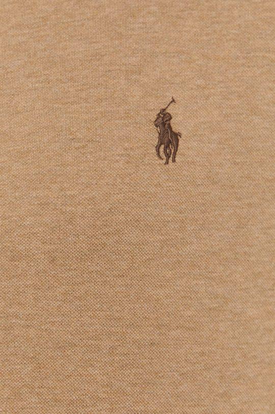 Polo Ralph Lauren - Koszula bawełniana złoty brąz