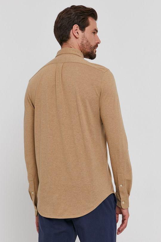 złoty brąz Polo Ralph Lauren - Koszula bawełniana
