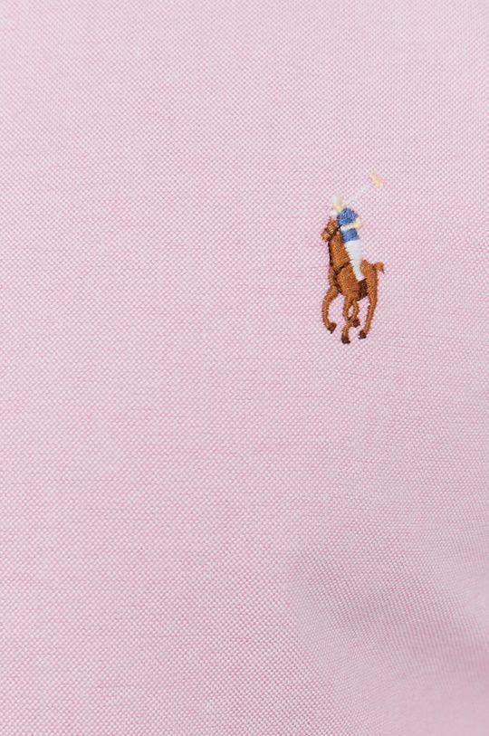 Polo Ralph Lauren - Bavlněné tričko růžová