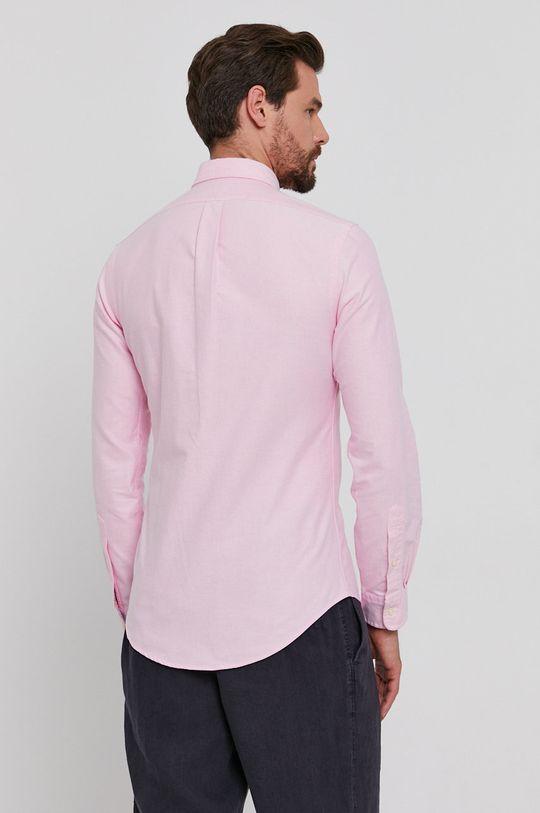 růžová Polo Ralph Lauren - Bavlněné tričko