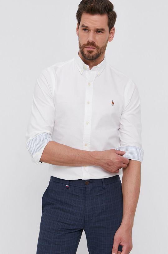 biały Polo Ralph Lauren - Koszula bawełniana