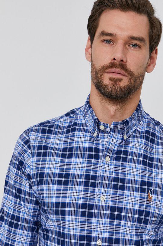 niebieski Polo Ralph Lauren - Koszula bawełniana Męski