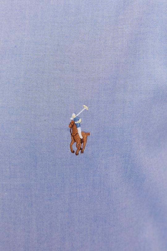 Polo Ralph Lauren - Bavlněná košile modrá