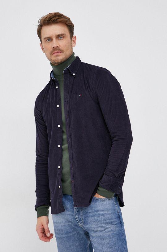Tommy Hilfiger - Manšestrová košile  98% Bavlna, 2% Elastan