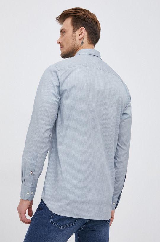 granatowy Tommy Hilfiger - Koszula bawełniana