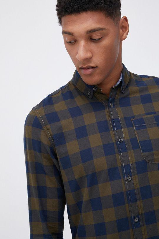 zielony Produkt by Jack & Jones - Koszula bawełniana Męski