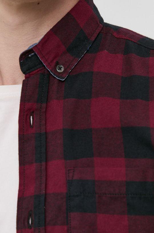 Produkt by Jack & Jones - Koszula bawełniana kasztanowy