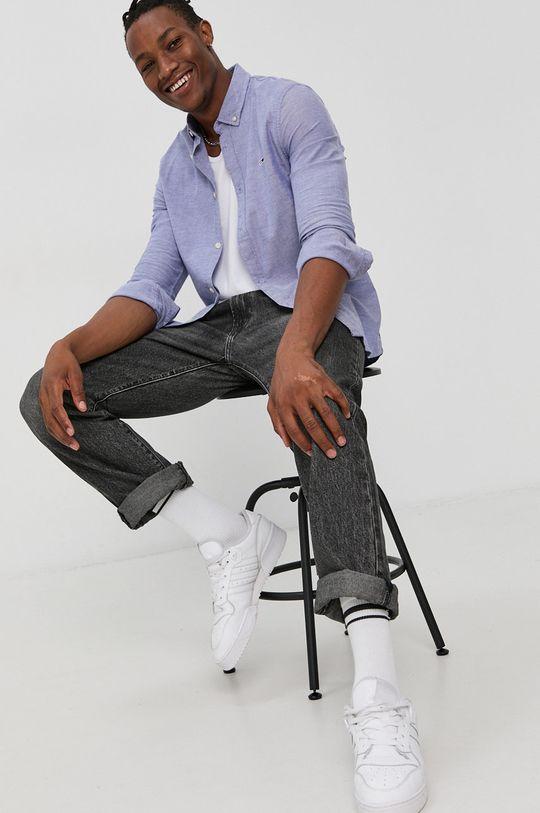 Tommy Jeans - Koszula fioletowy