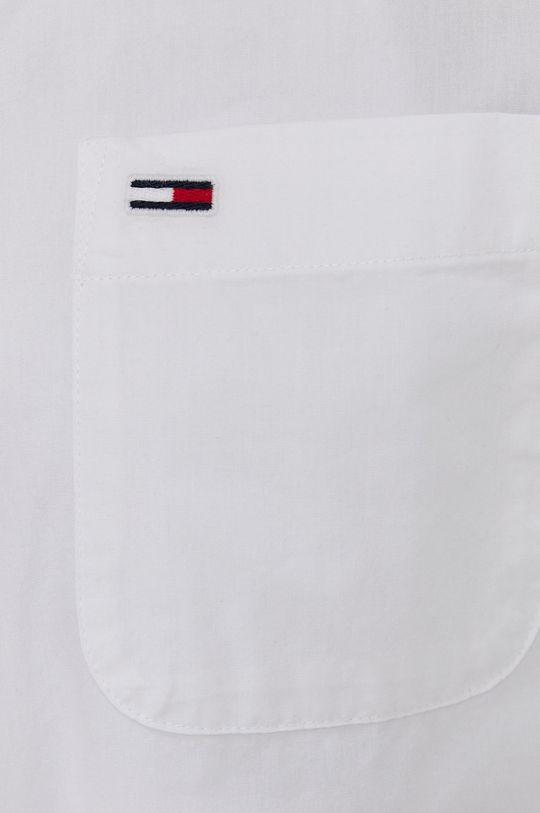 Tommy Jeans - Koszula bawełniana biały
