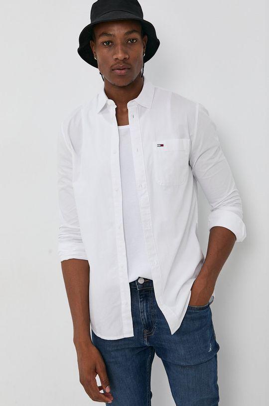 Tommy Jeans - Koszula bawełniana Męski